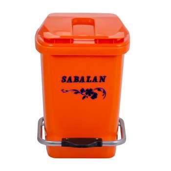 تصویر سطل زباله پدالی سبلان مدل S12
