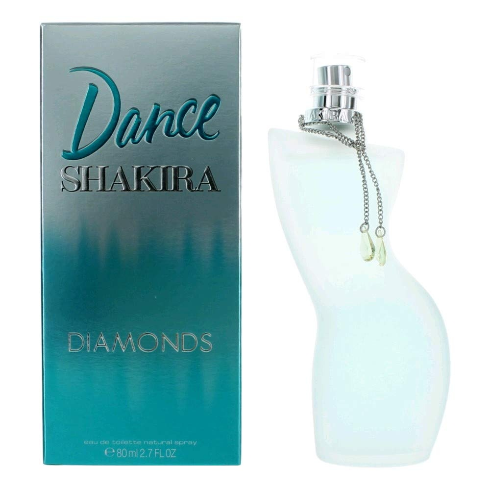 ادو تویلت زنانه شکیرا سری DANCE مدل DIAMONDS حجم 80 میلی لیتر