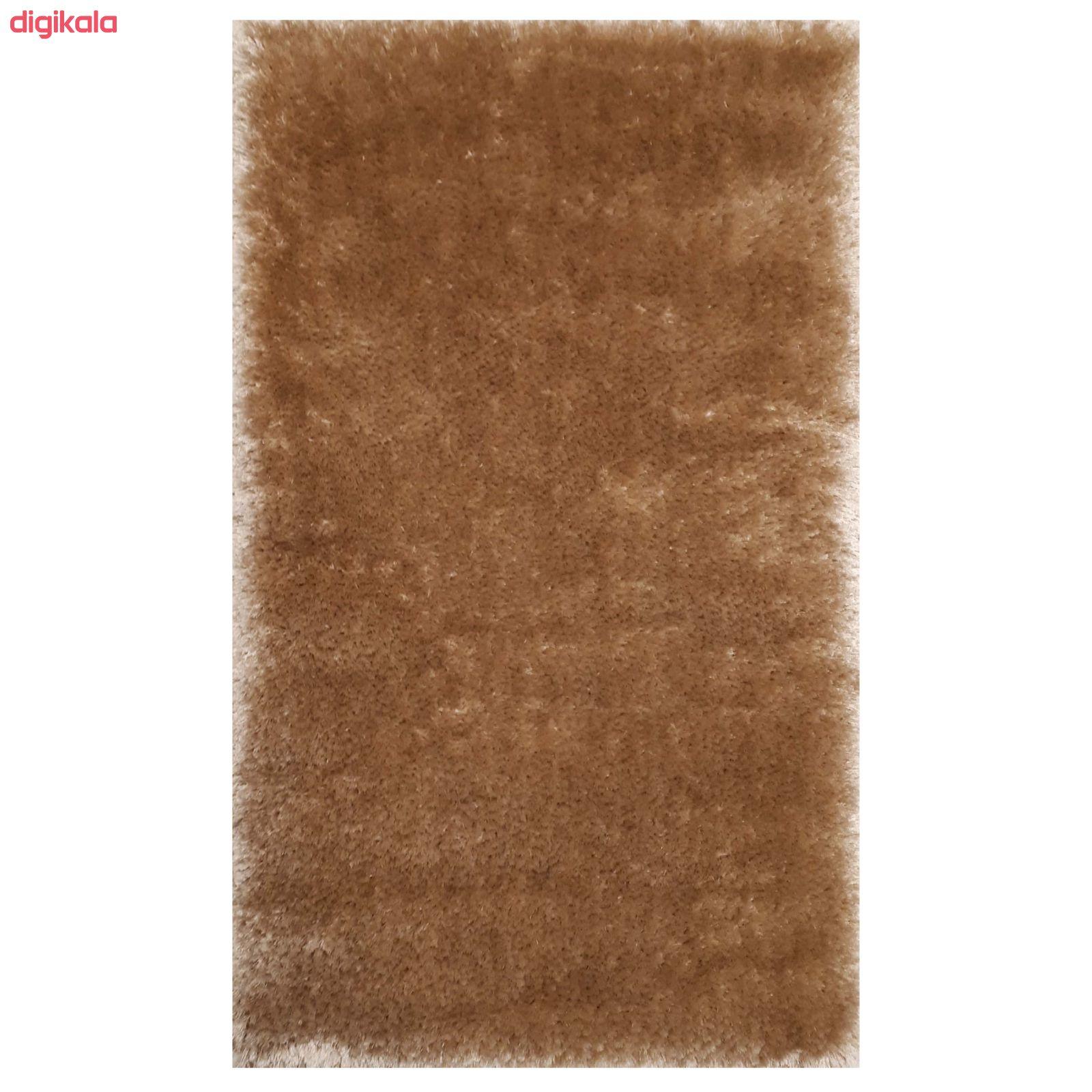 فرش ماشینی مدل شگی کد 5013 زمینه نسکافه ای main 1 5