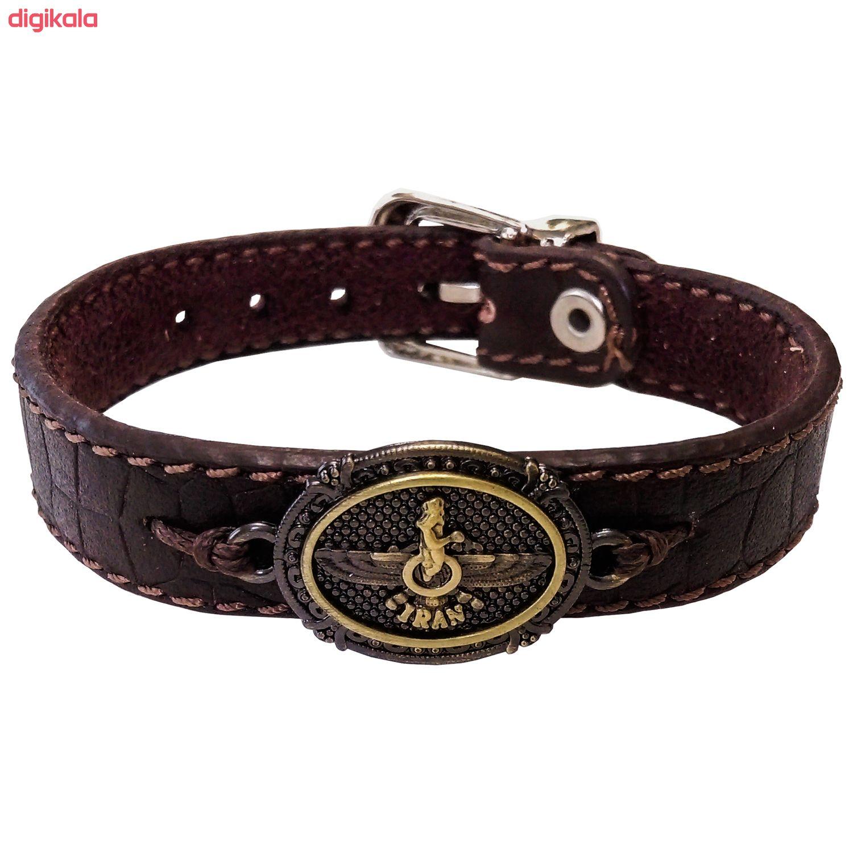دستبند چرم وارک مدل پرهام کد rb60 main 1 1