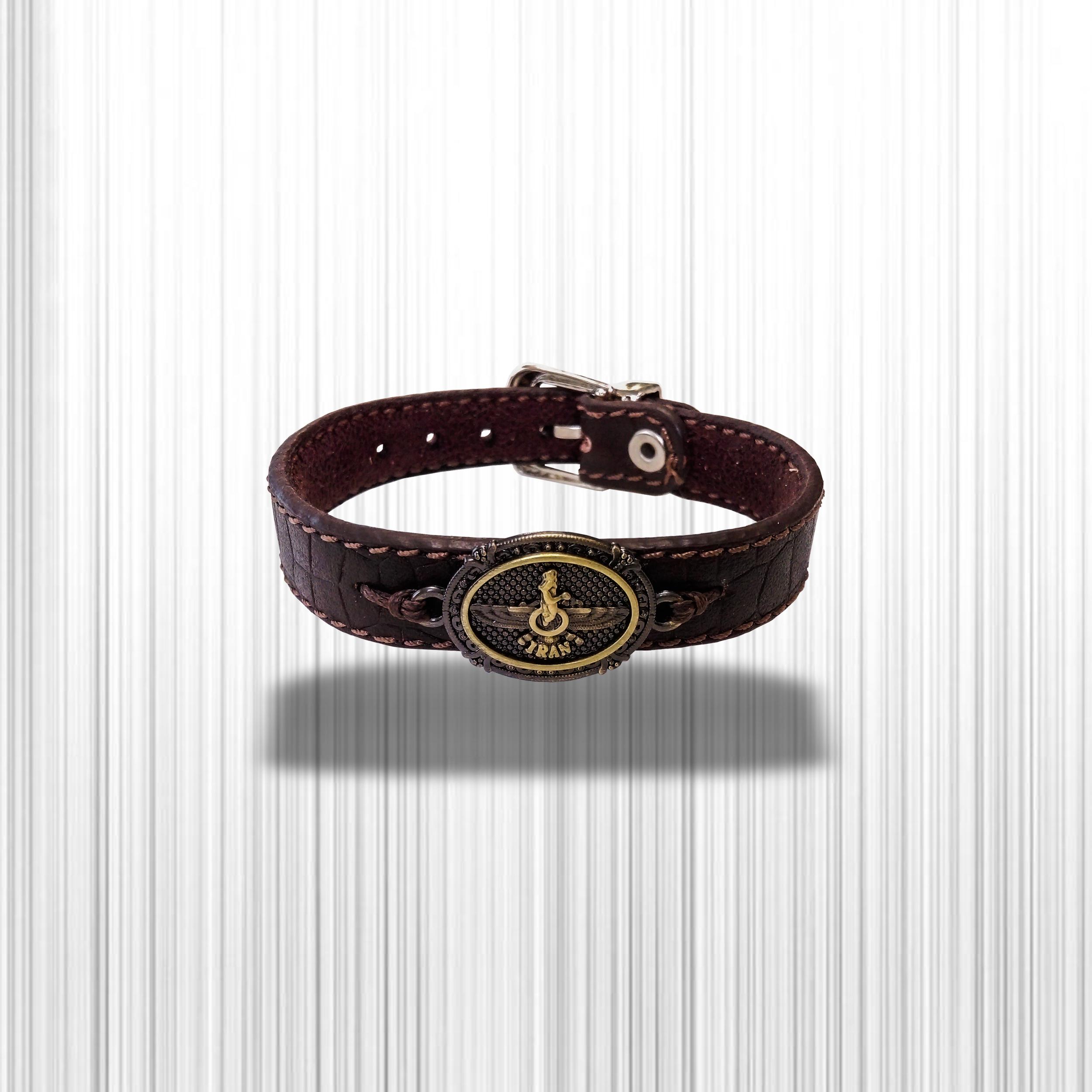 دستبند چرم وارک مدل پرهام کد rb60 main 1 4