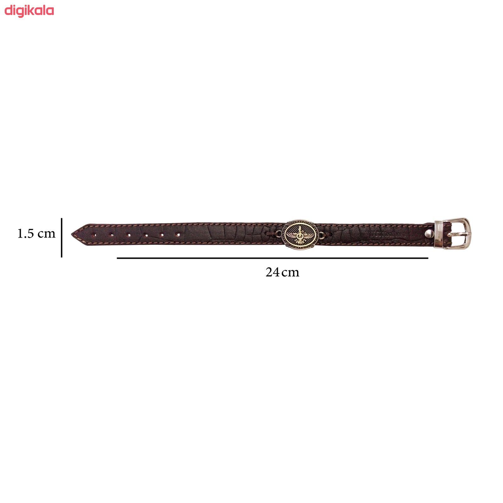 دستبند چرم وارک مدل پرهام کد rb60 main 1 5