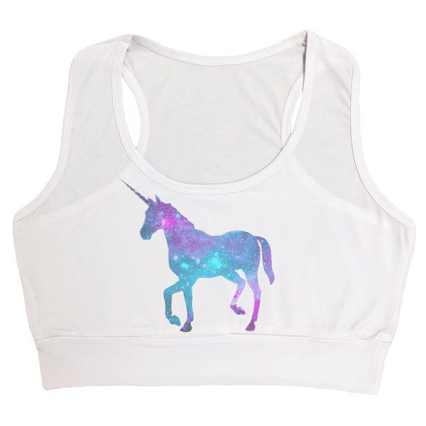 نیم تنه زنانه طرح اسب شاخ دار کد 17