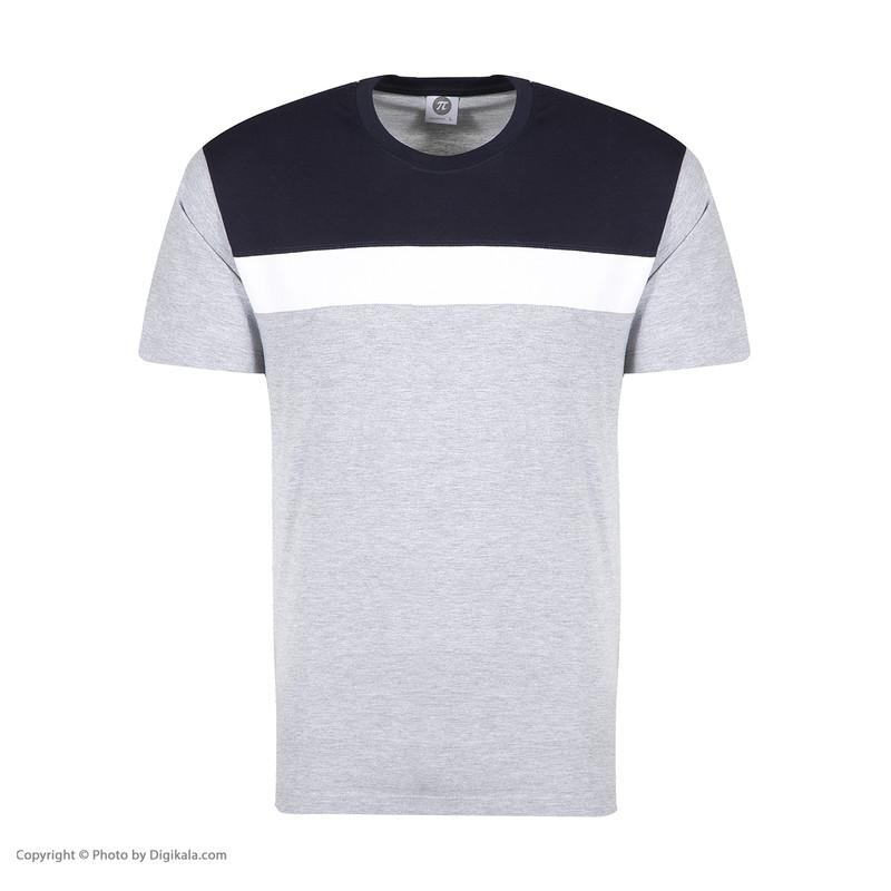 ست تی شرت و شلوارک مردانه پندار مدل B338 کد C2