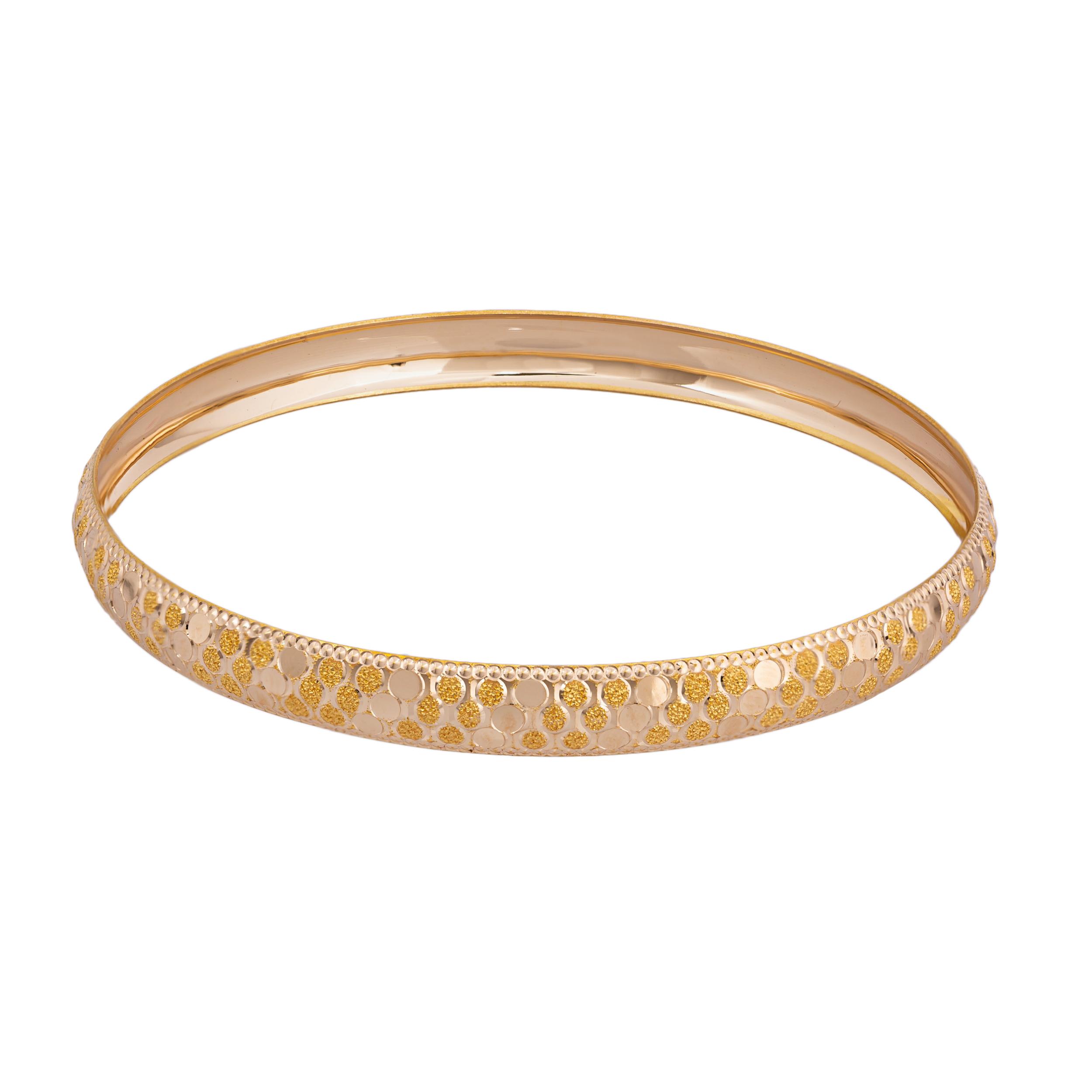 النگو طلا 18 عیار زنانه کد AL16G-2