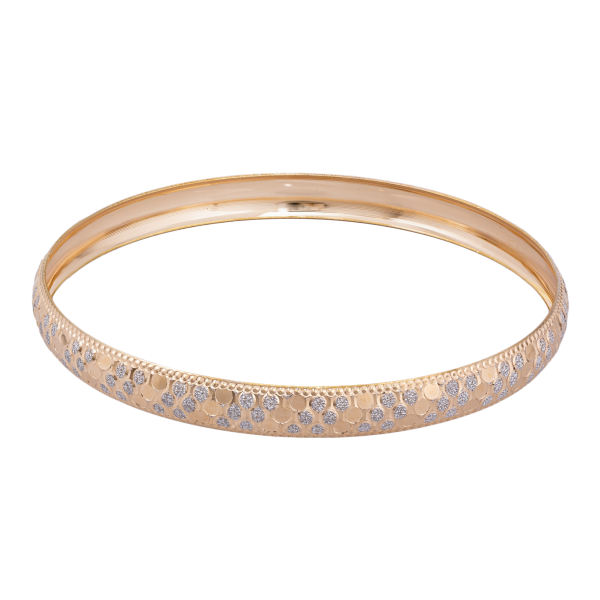 النگو طلا 18 عیار زنانه کد AL16W-2