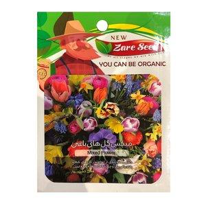 بذر میکس گل های باغی پاسارگاد کشت زارع کد zs126