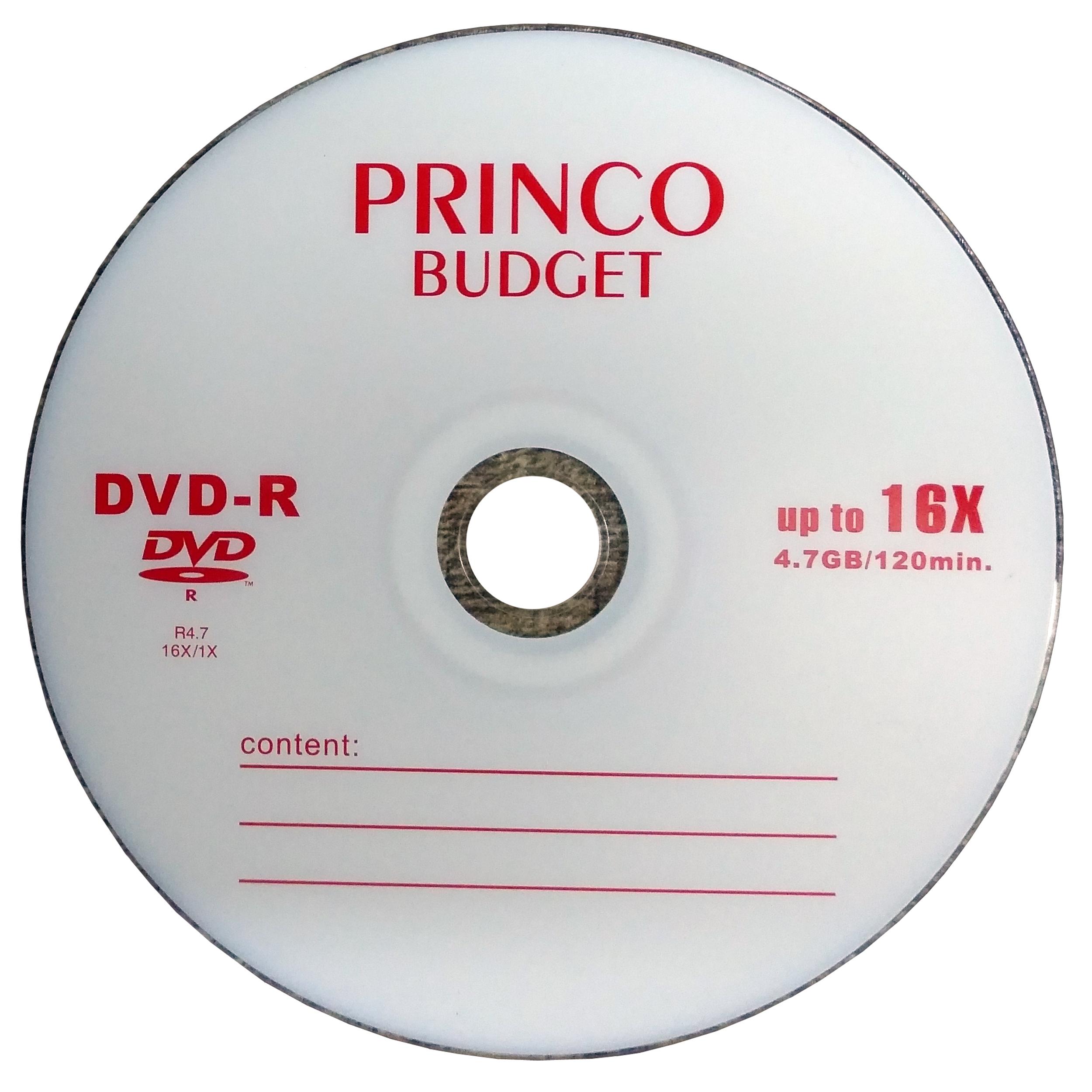 دی وی دی خام پرینکو کد 101 بسته 10 عددی