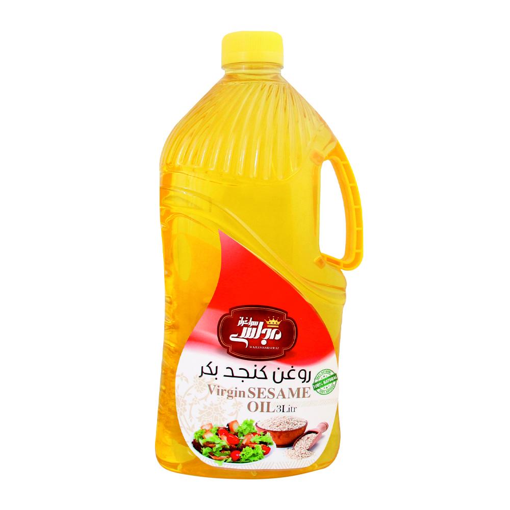 روغن كنجد بكر ممتاز مجلسي سرافراز - 3 ليتر