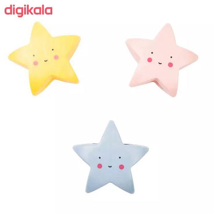 چراغ خواب کودک طرح ستاره مدل PL2 main 1 4