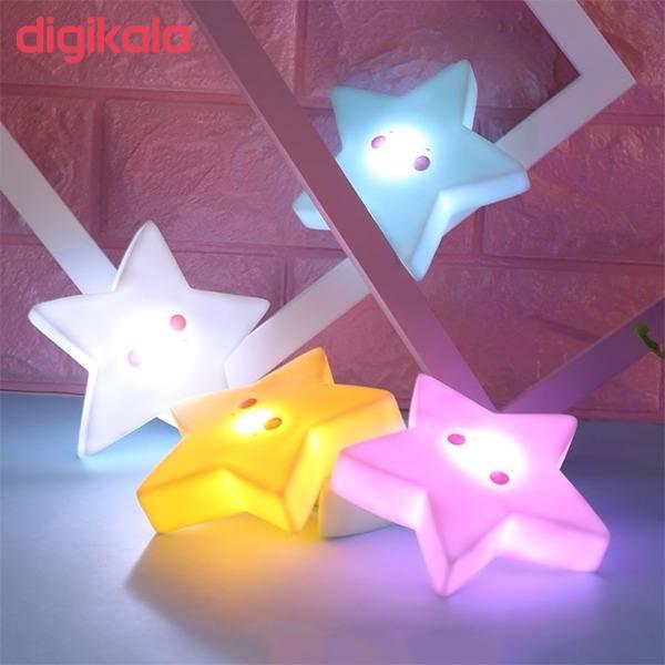 چراغ خواب کودک طرح ستاره مدل PL2 main 1 6