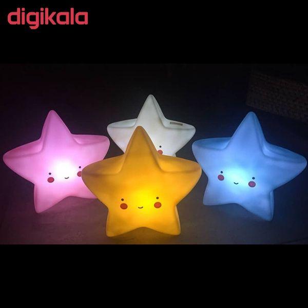 چراغ خواب کودک طرح ستاره مدل PL2 main 1 7