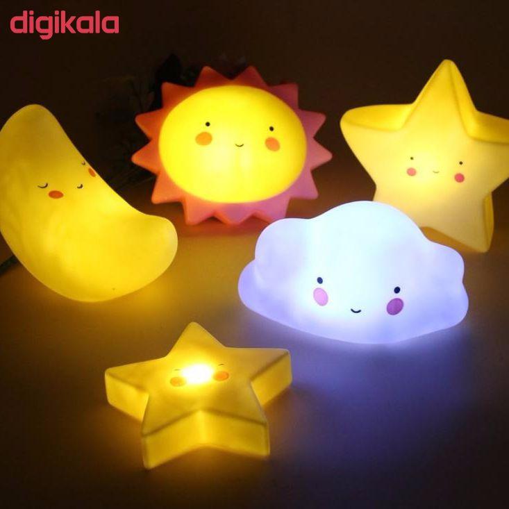 چراغ خواب کودک طرح ستاره مدل PL2 main 1 8