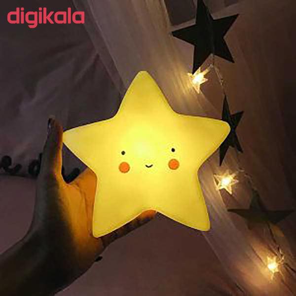 چراغ خواب کودک طرح ستاره مدل PL2 main 1 10