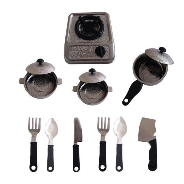 ست ظروف آشپزی مدل سرآشپز کوچولو