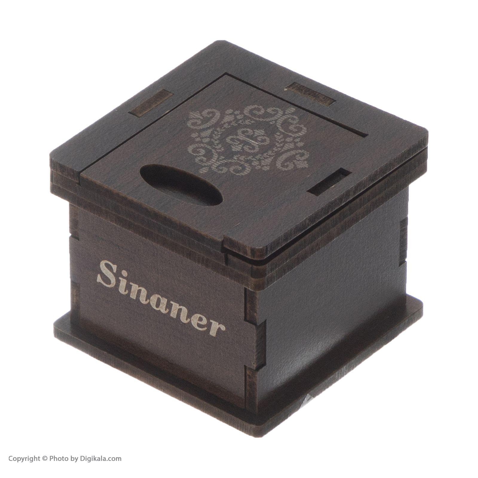 انگشتر نقره زنانه سینانر کد SN-R0173 -  - 7