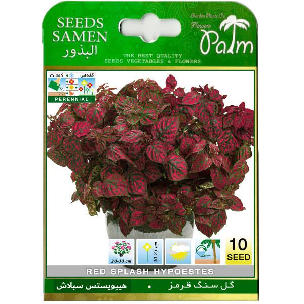 بذر گل سنگ قرمز پالم کد 10