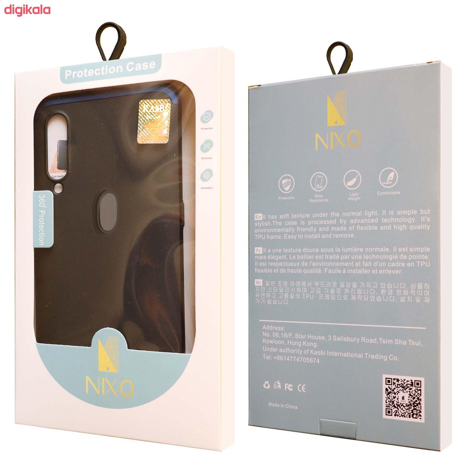 کاور 360 درجه نیکسو مدل Soliel مناسب برای گوشی موبایل شیائومی Redmi Note 8 به همراه محافظ صفحه نمایش