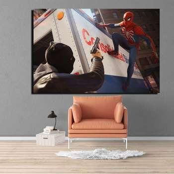 تابلو شاسی طرح مرد عنکبوتی مدل 10