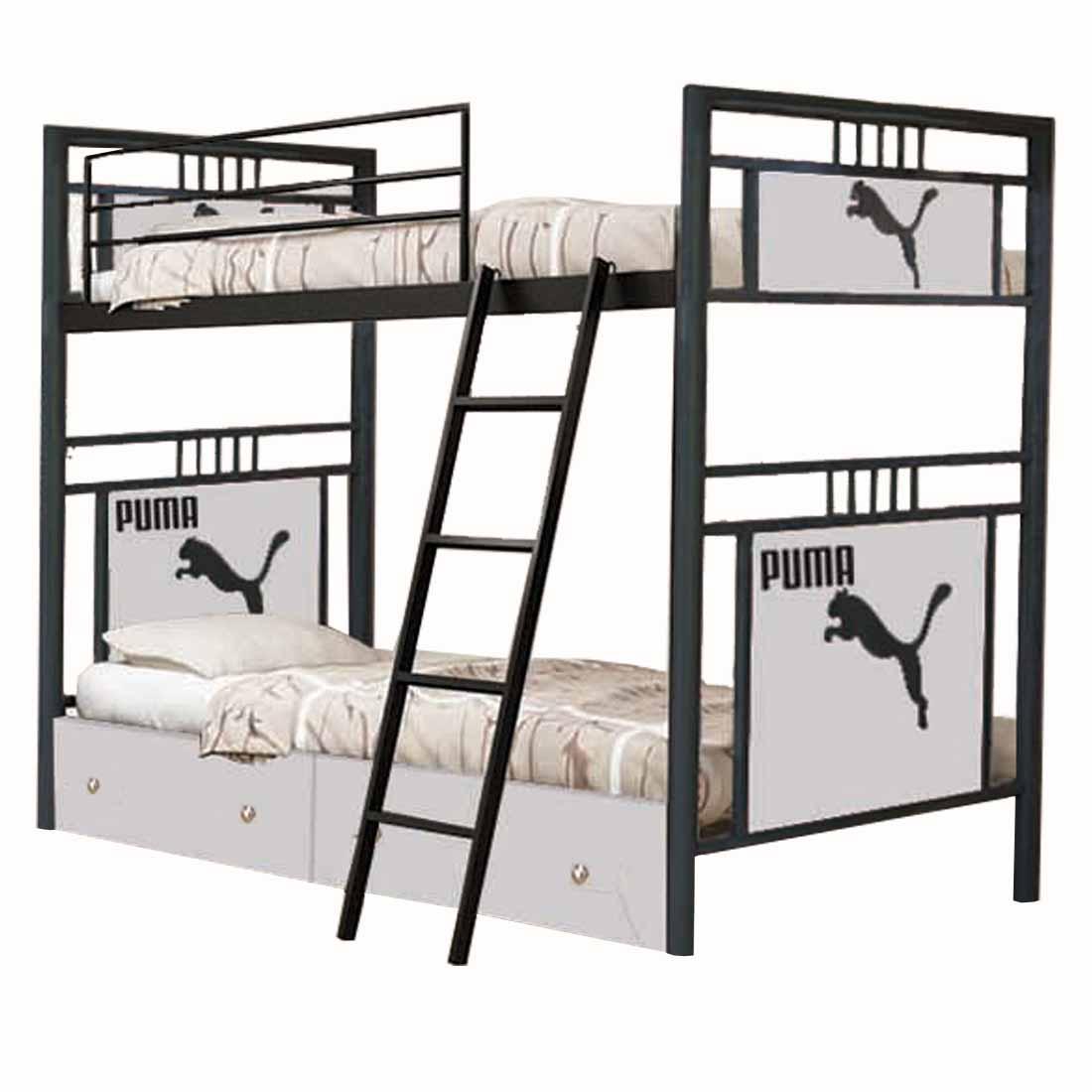 تخت خواب دو طبقه کد NA03 سایز 90x200 سانتیمتر