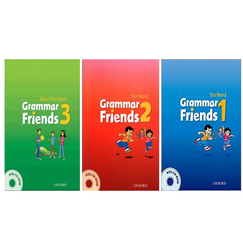 خرید                      کتاب Grammar Friends اثر Tim Ward And Eileen Flannigan انتشارات Oxford سه جلدی