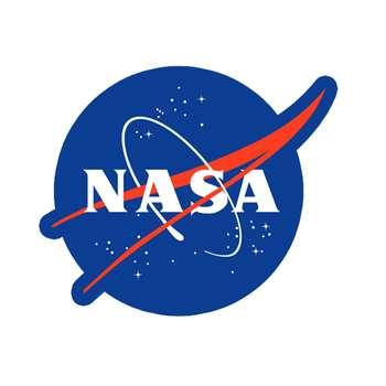استیکر لپ تاپ طرح NASA کد 1526