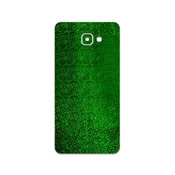 برچسب پوششی ماهوت مدل Green-Holographic مناسب برای گوشی موبایل سامسونگ Galaxy A9 2016