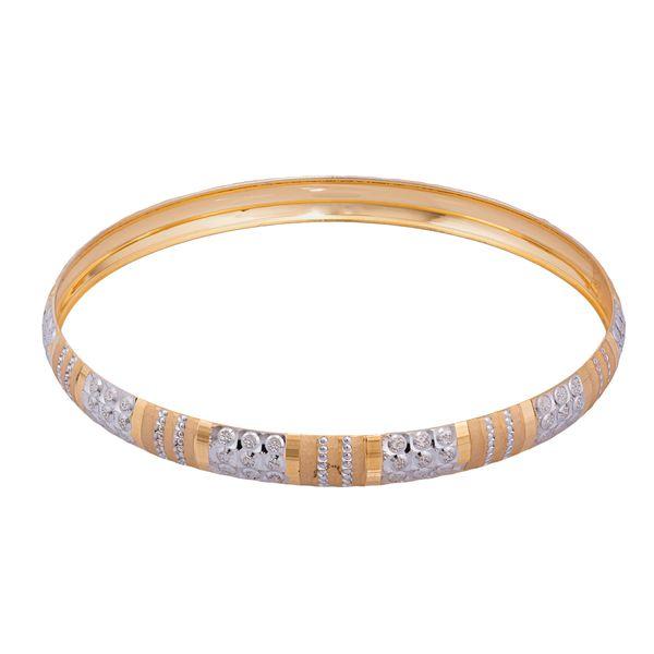 النگو طلا 18 عیار زنانه کد AL18W-3