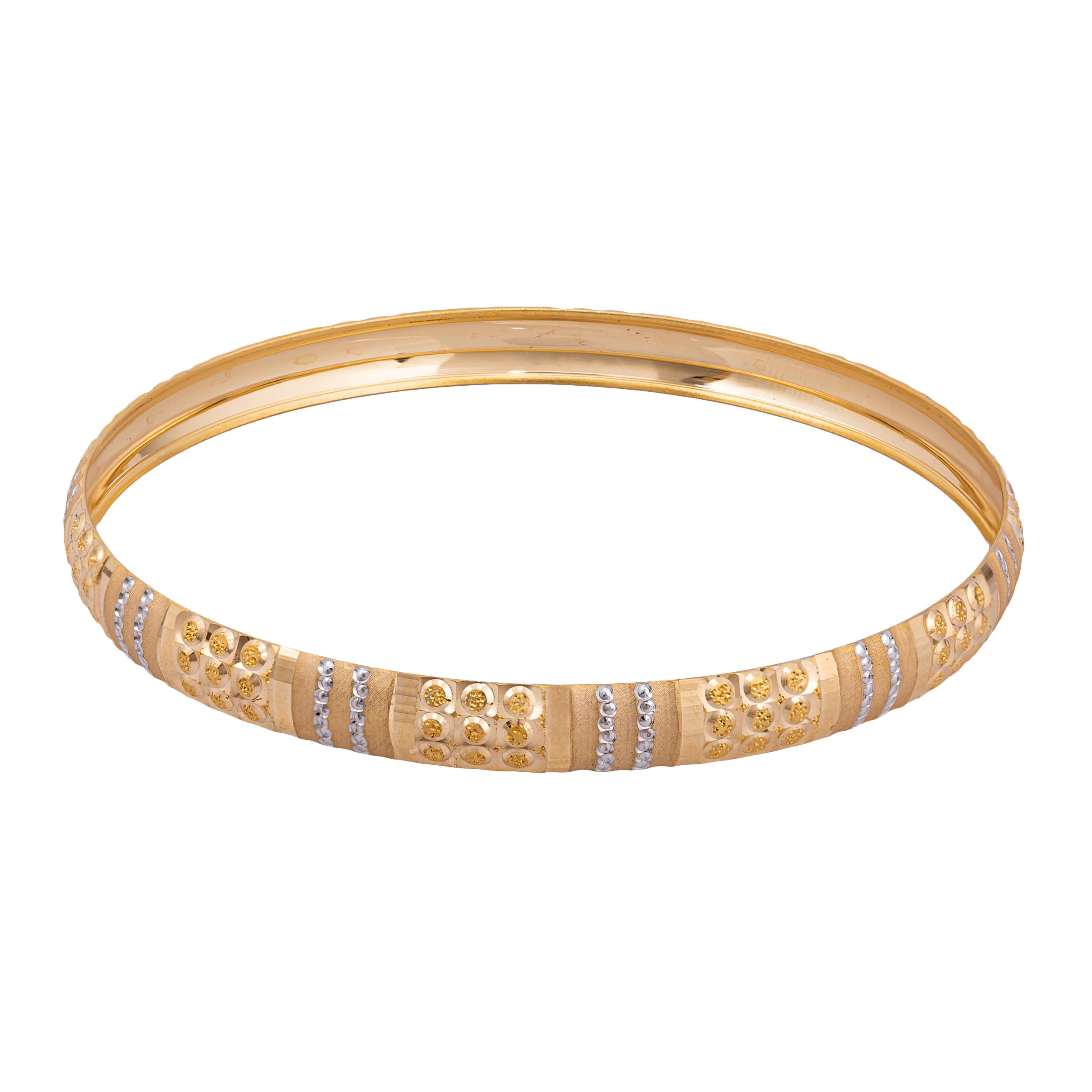 النگو طلا 18 عیار زنانه کد AL18G-2