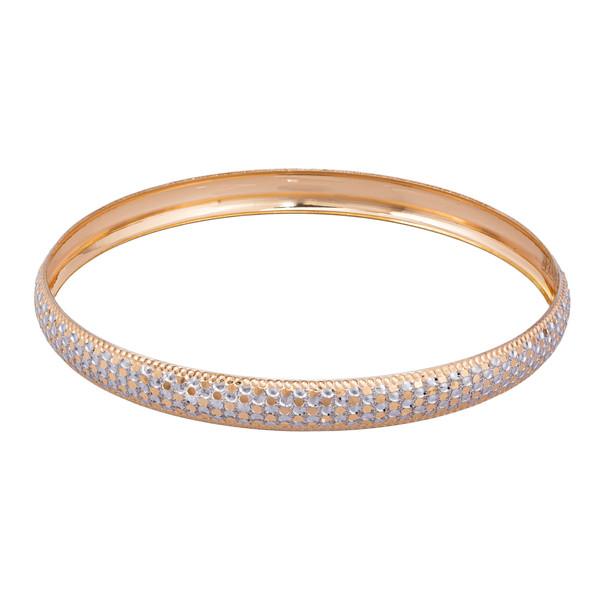 النگو طلا 18 عیار زنانه کد AL17W-3