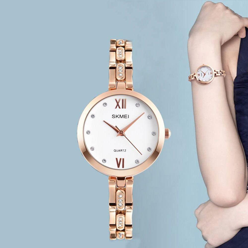 ساعت مچی عقربه ای زنانه اسکمی مدل 1225 کد 01 -  - 7