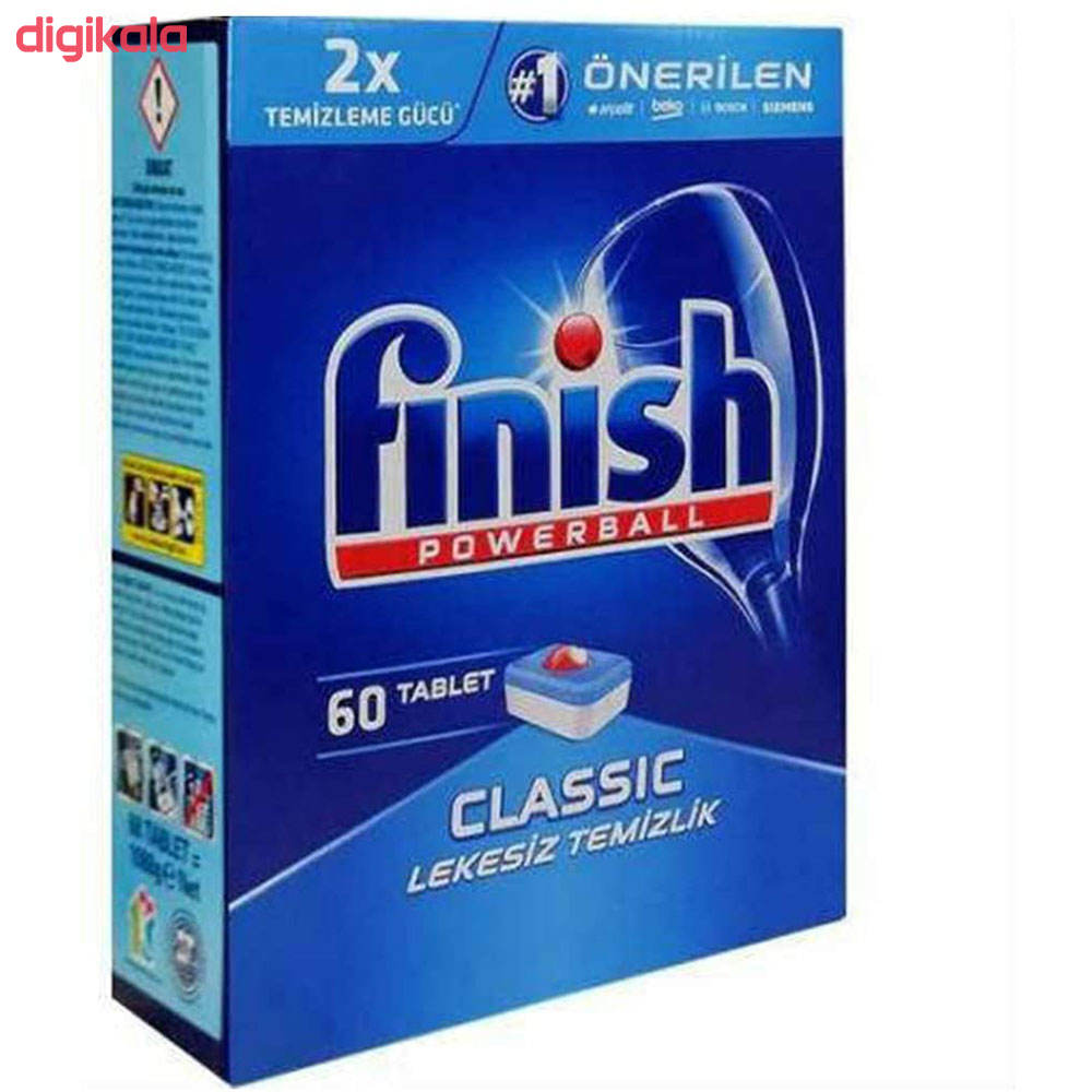 قرص ماشین ظرفشویی فینیش مدل Classic بسته 60 عددی main 1 2