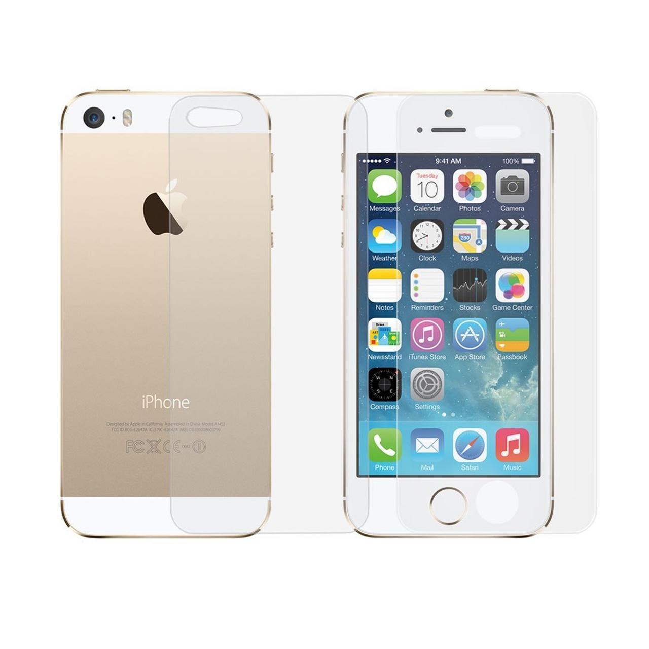 محافظ صفحه نمایش و پشت گوشی مدل HG125 مناسب برای گوشی موبایل اپل iPhone 5/5S/SE