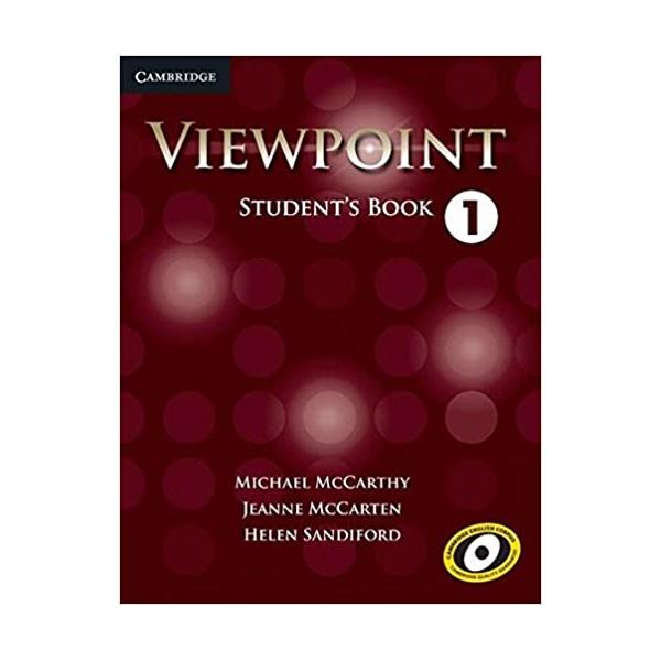 خرید                      کتاب Viewpoint 1 اثر جمعی از نویسندگان انتشارات Cambridge
