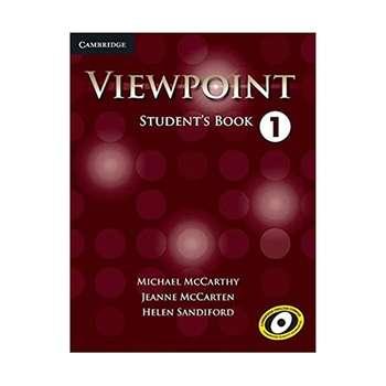 کتاب Viewpoint 1 اثر جمعی از نویسندگان انتشارات Cambridge