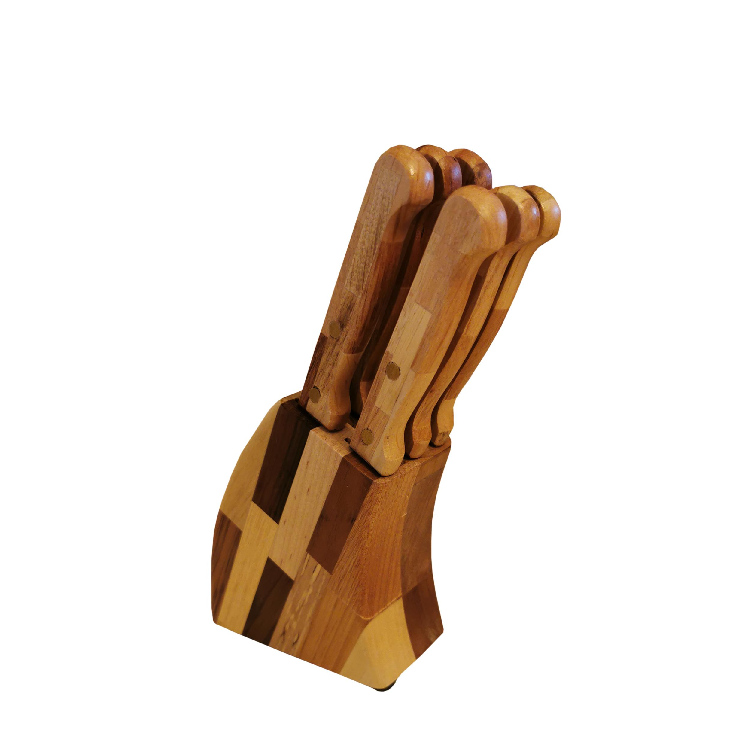 سرویس چاقو 7 پارچه مدل WN07