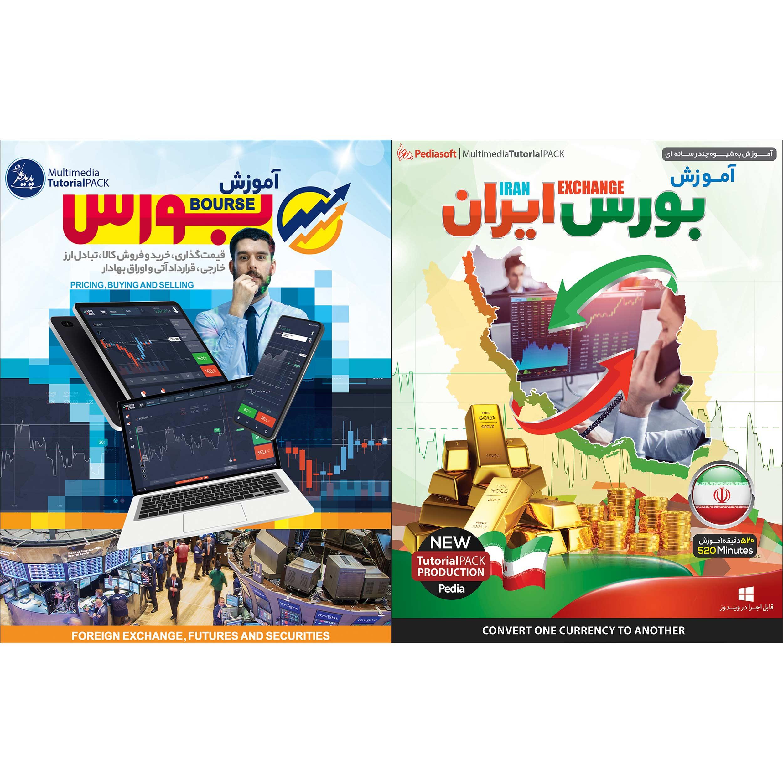 خرید اینترنتی نرم افزار آموزش بورس ایران نشر پدیا سافت به همراه نرم افزار آموزش بورس نشر پدیده