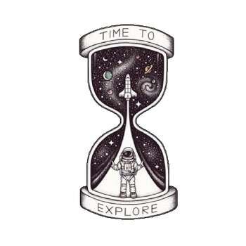 استیکر لپ تاپ طرح ساعت شنی کد 1643