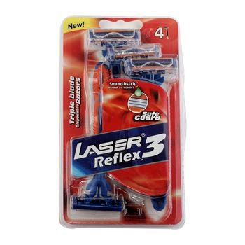 خود تراش لیزر مدل Reflex بسته 4 عددی