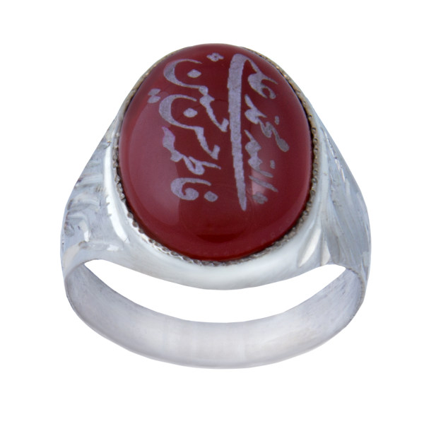 انگشتر نقره مردانه بازرگانی میلادی کد  AM_065