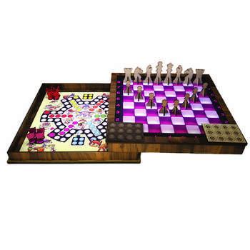 مجموعه بازی فکری شطرنج و منچ مدل B 101