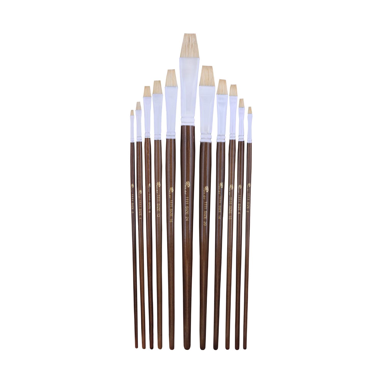 قلم مو تخت پارس آرت کد 1111 مجموعه 11 عددی