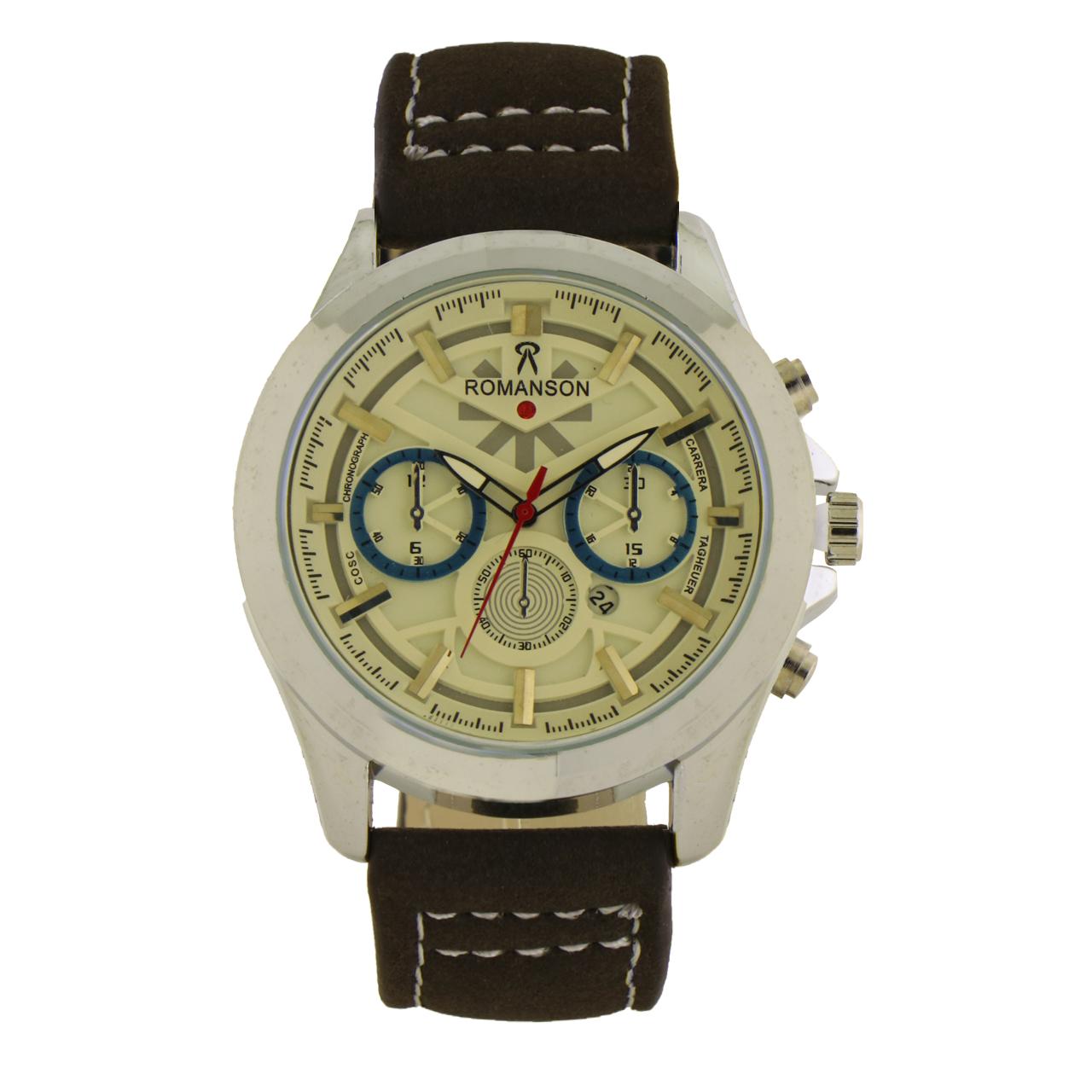 کد تخفیف                                      ساعت مچی عقربه ای مردانه مدل R-5236gm                     غیر اصل