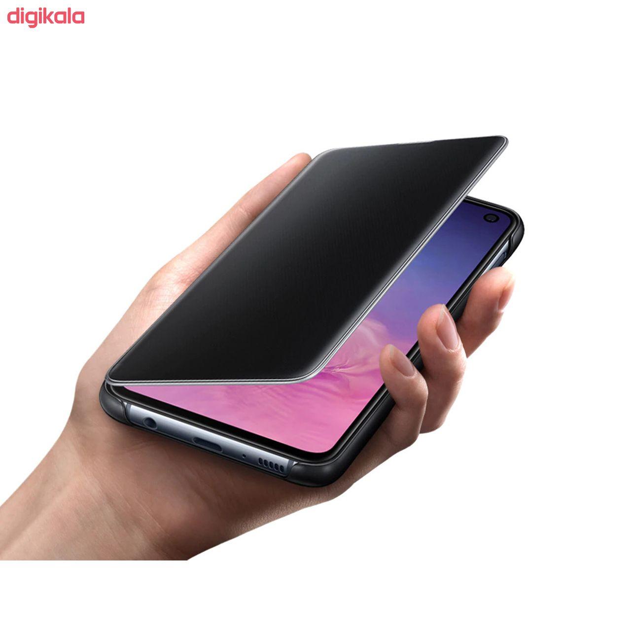 کیف کلاسوری مدل Clear View Cover مناسب برای گوشی موبایل سامسونگ Galaxy A50/A50S/A30S