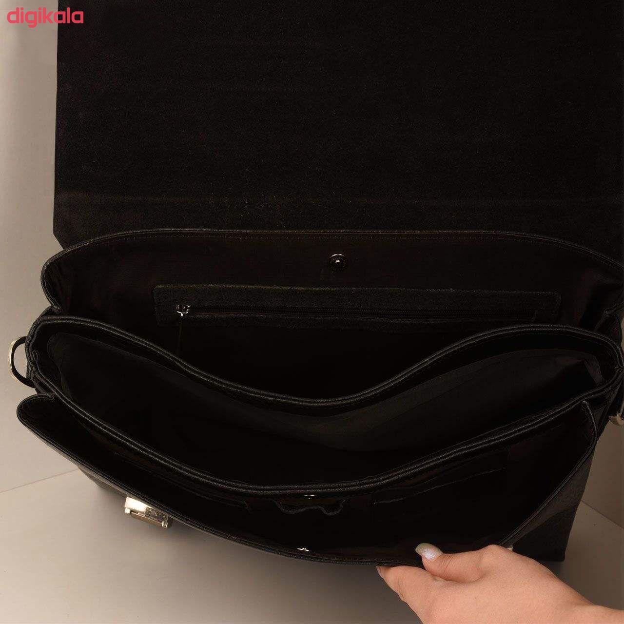 کیف اداری مردانه پارینه چرم مدل L146-1 main 1 38