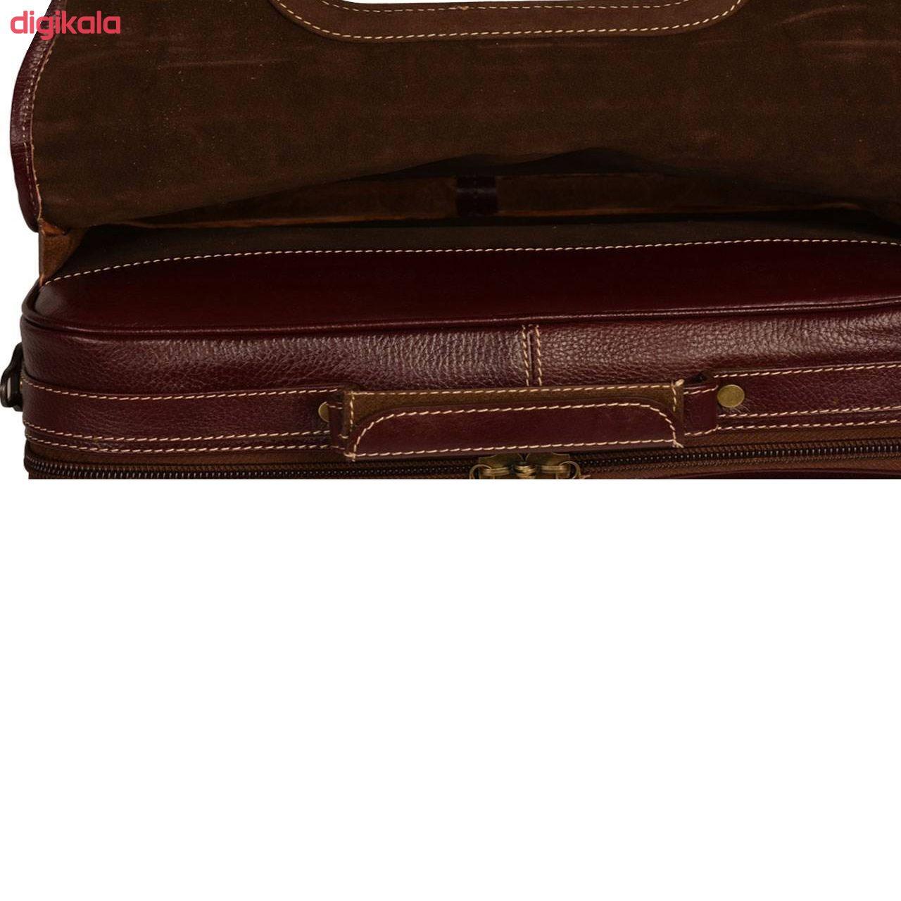 کیف اداری مردانه پارینه چرم مدل LT1 main 1 13