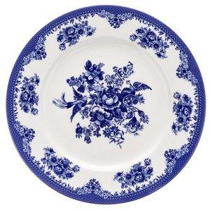 بشقاب غذا خوری چینی زرین ایران مدل ایتالیا اف فلورانس مجموعه 6 عددی