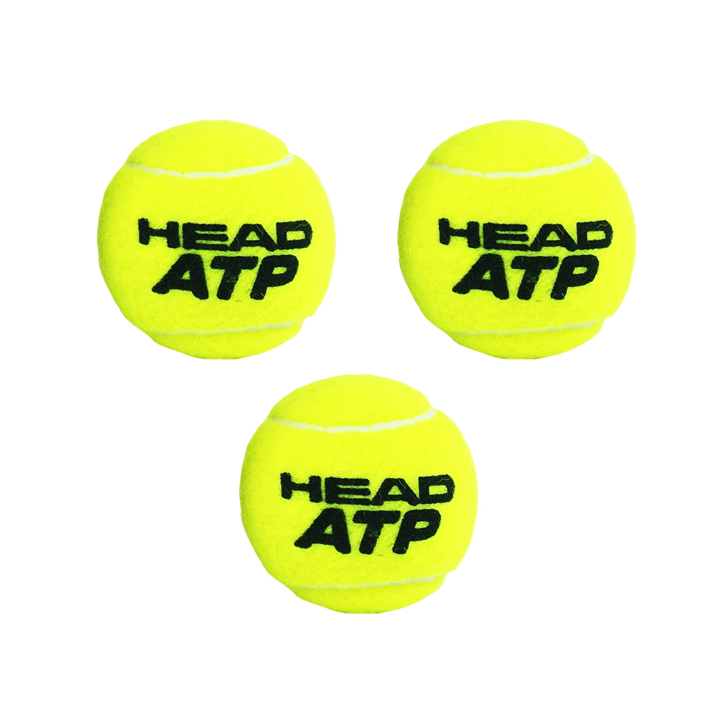 توپ تنیس هد مدل ATP بسته 3 عددی