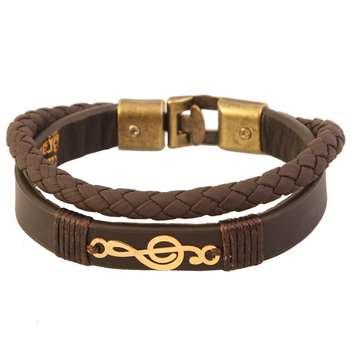 دستبند طلا 18 عیار کابوک مدل 175017