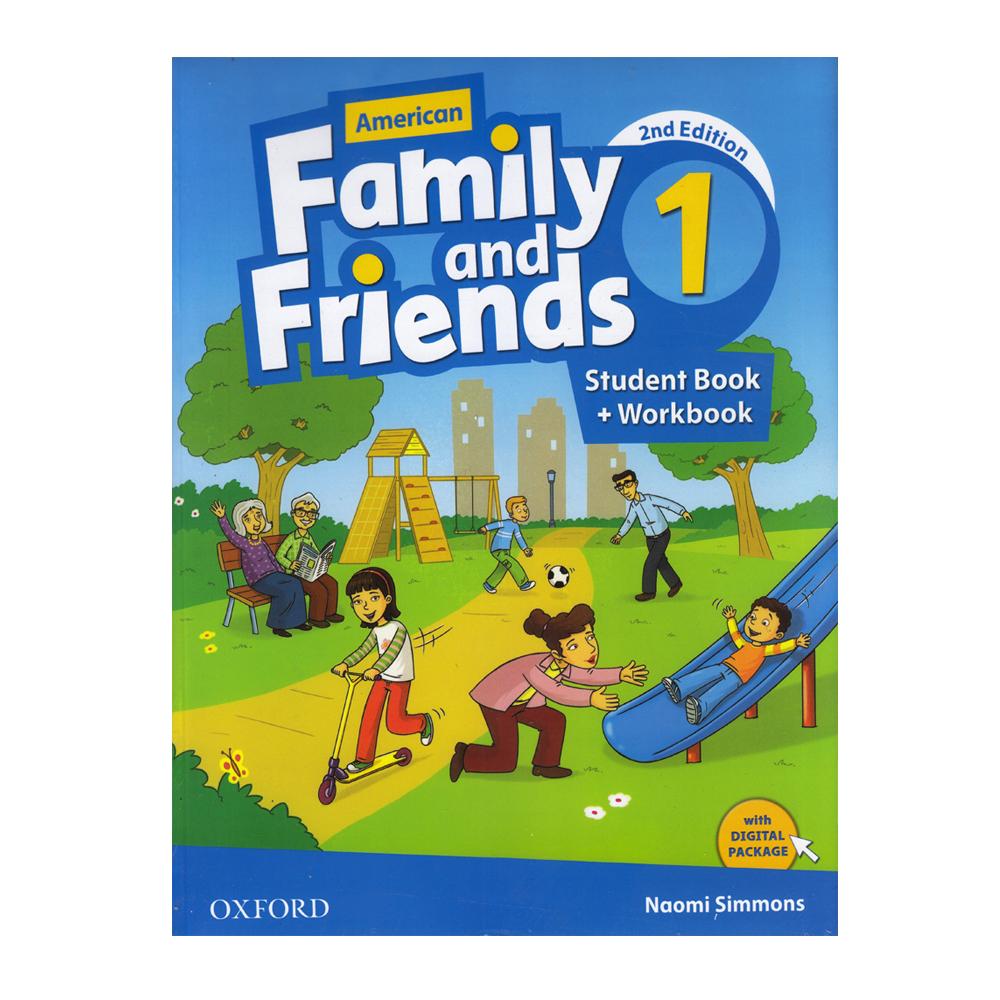 خرید                      کتاب American Family And Friends 1 اثر Naomi Simmons انتشارات Oxford